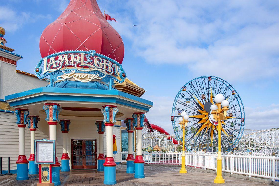 Lamplight Lounge Disney California Adventure Park