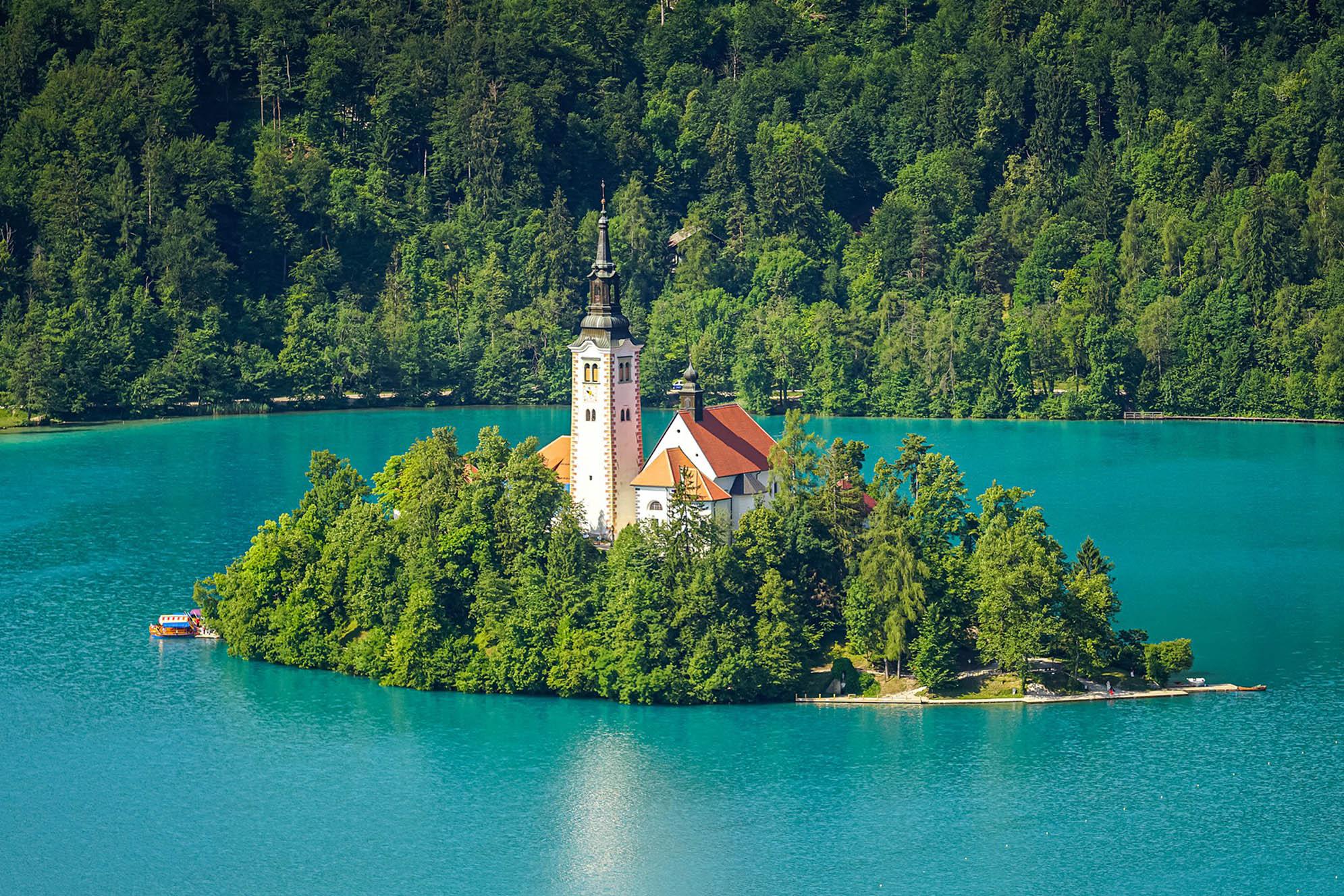 Lake Bled Slovenien