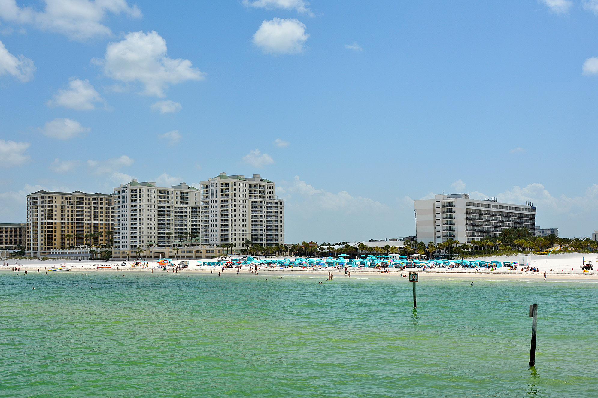 Clearwater Beach strand Florida USA
