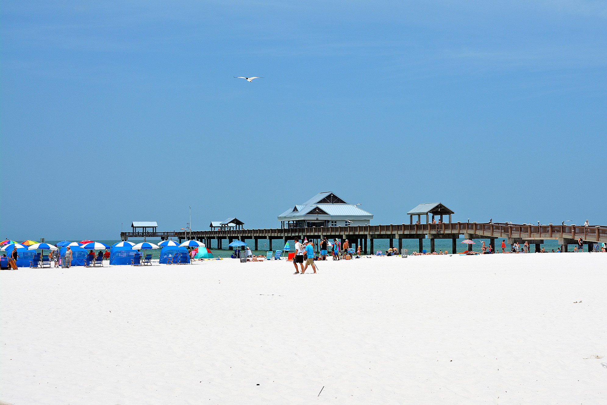 Clearwater Beach Pier florida