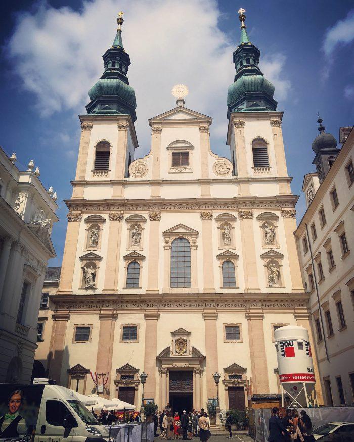 Jesuitenkirche Wien Instagram 2019