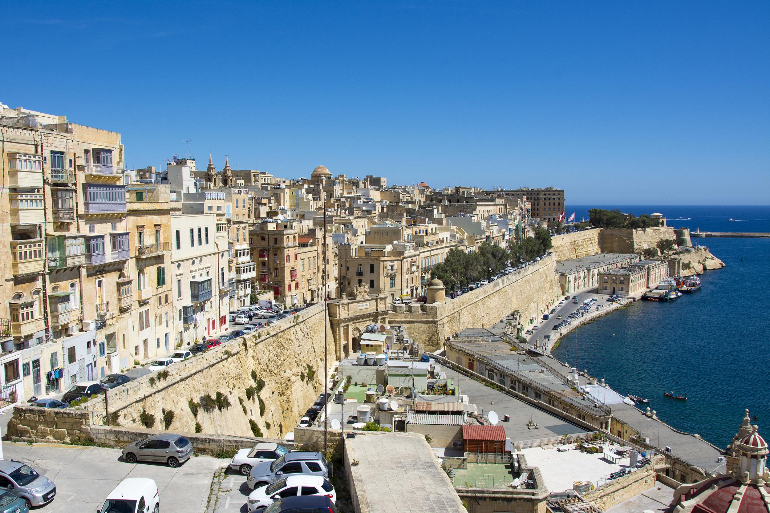 Valletta Malta Huvudstäder