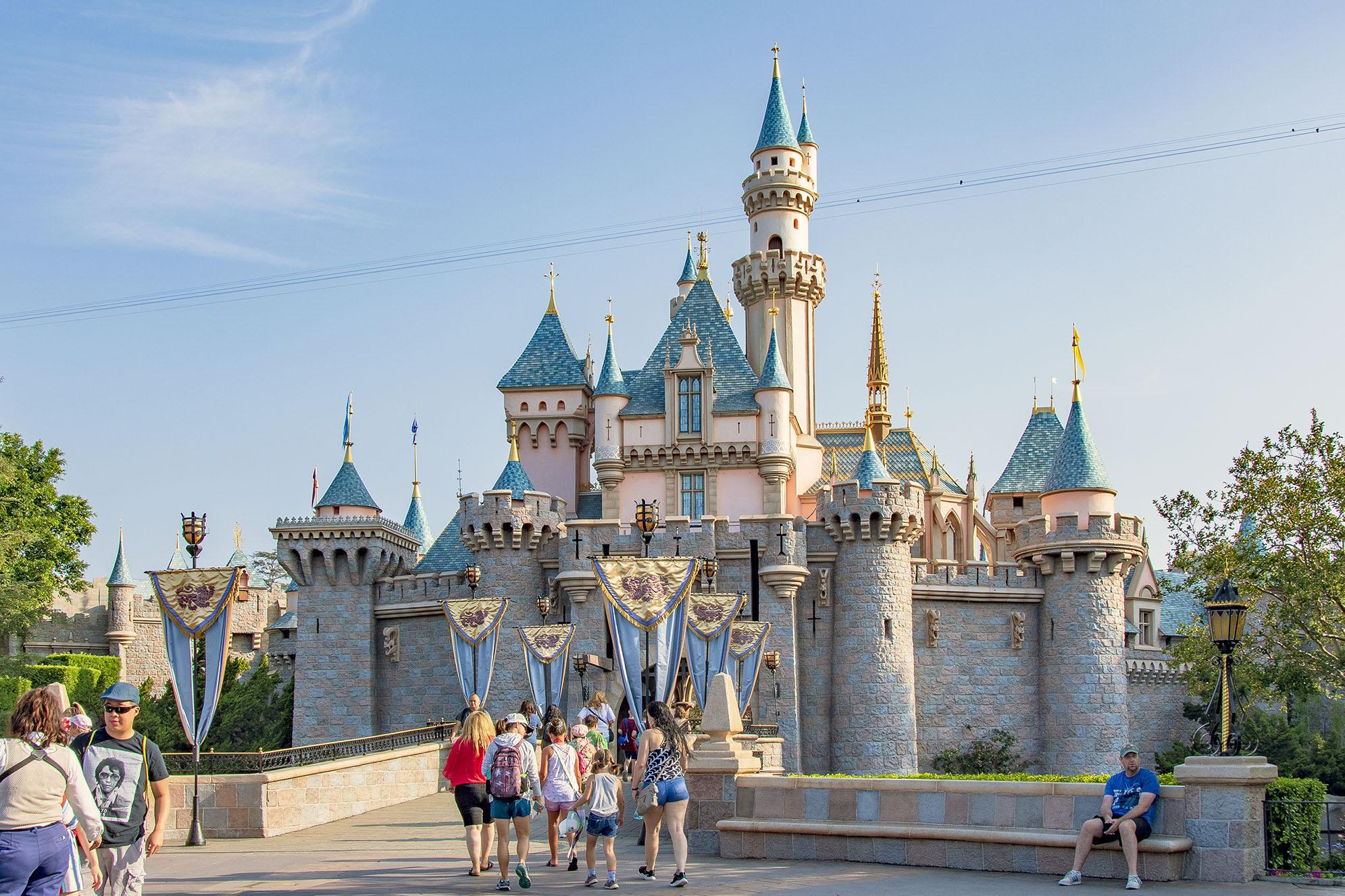 Disneyland Cinderella Castle