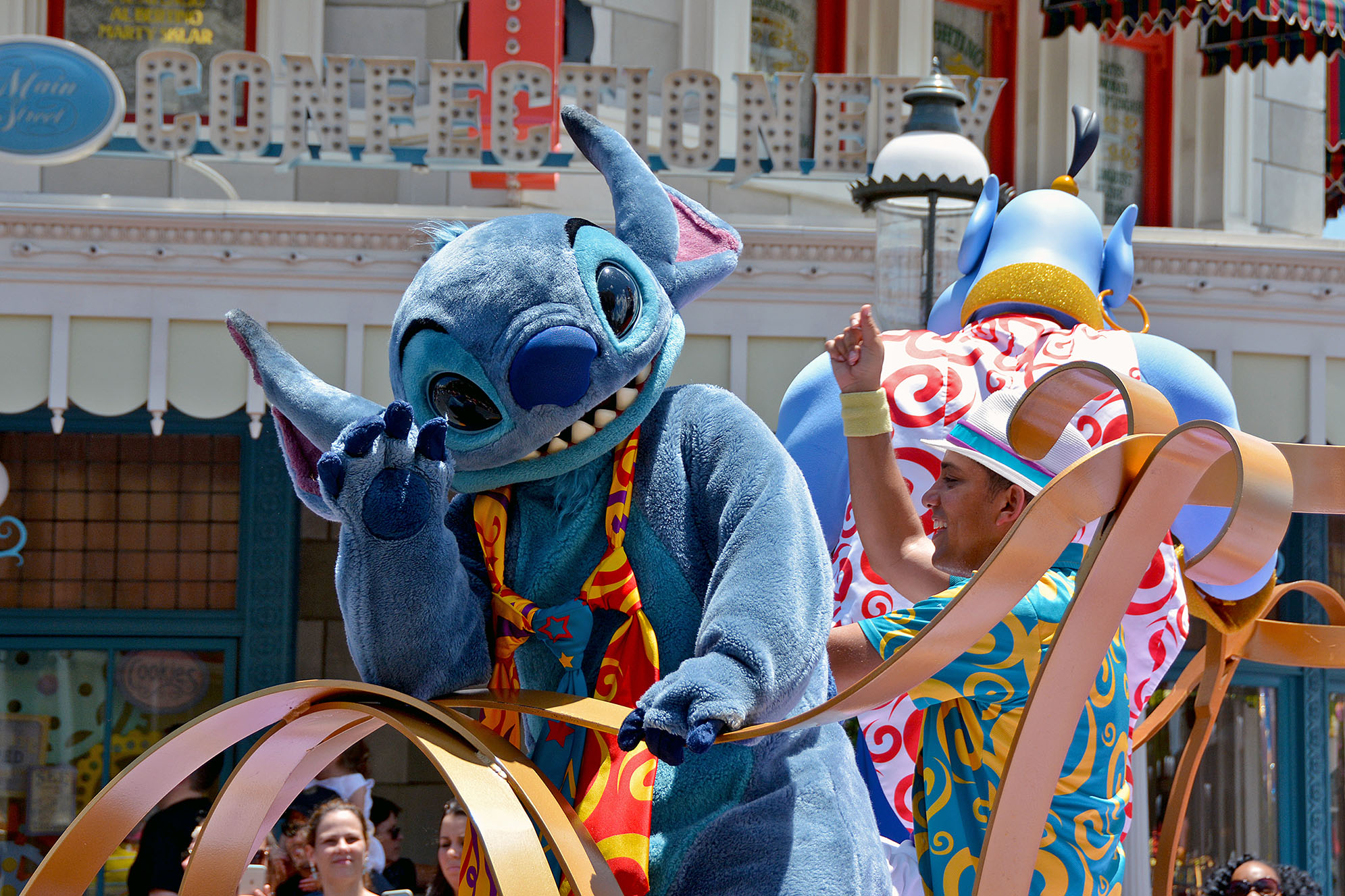 Stitch Magic Kingdom Orlando