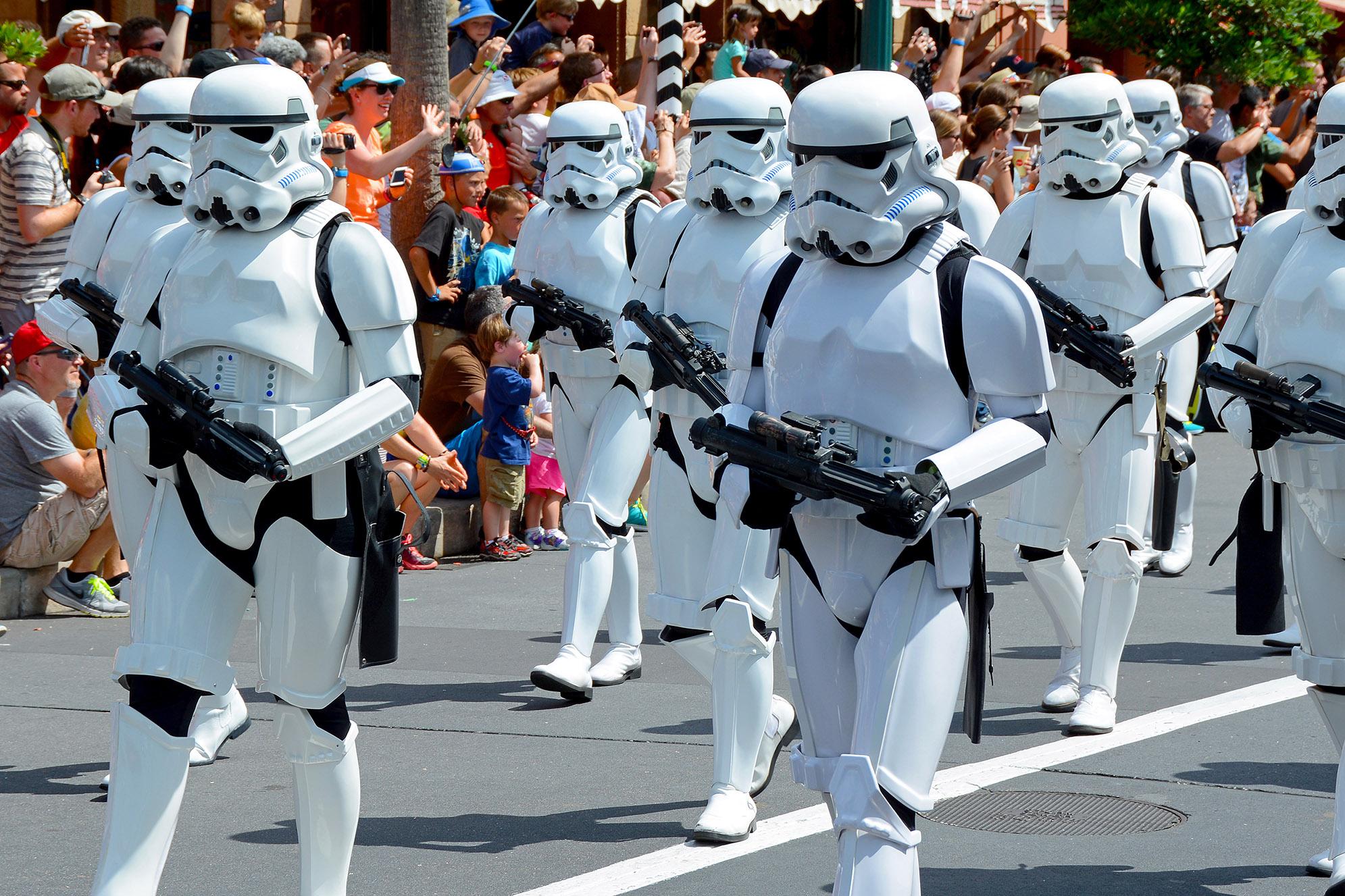 Stormtroopers på Disney's Hollywood Studios