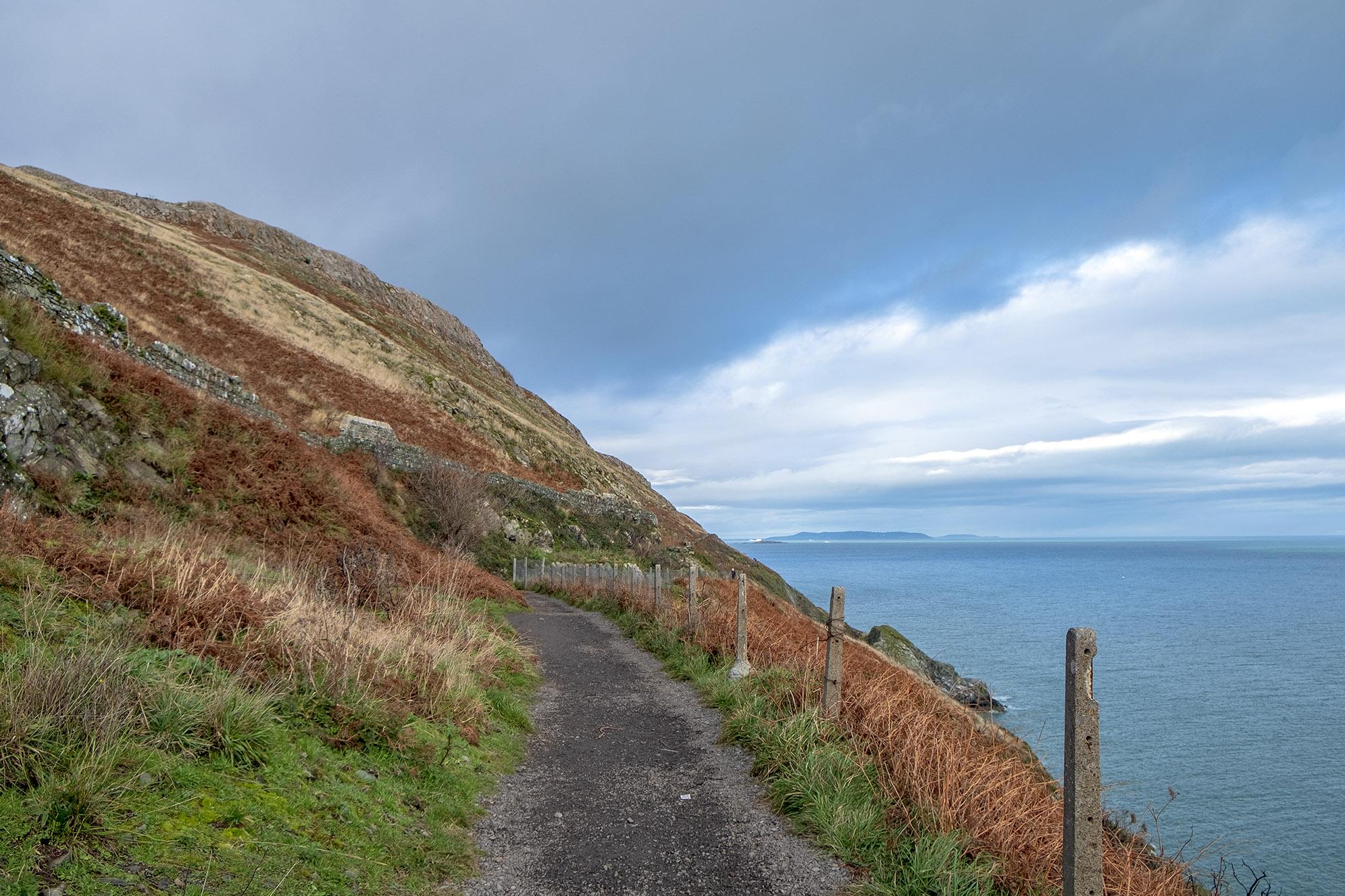 The Cliff Walk Irland.