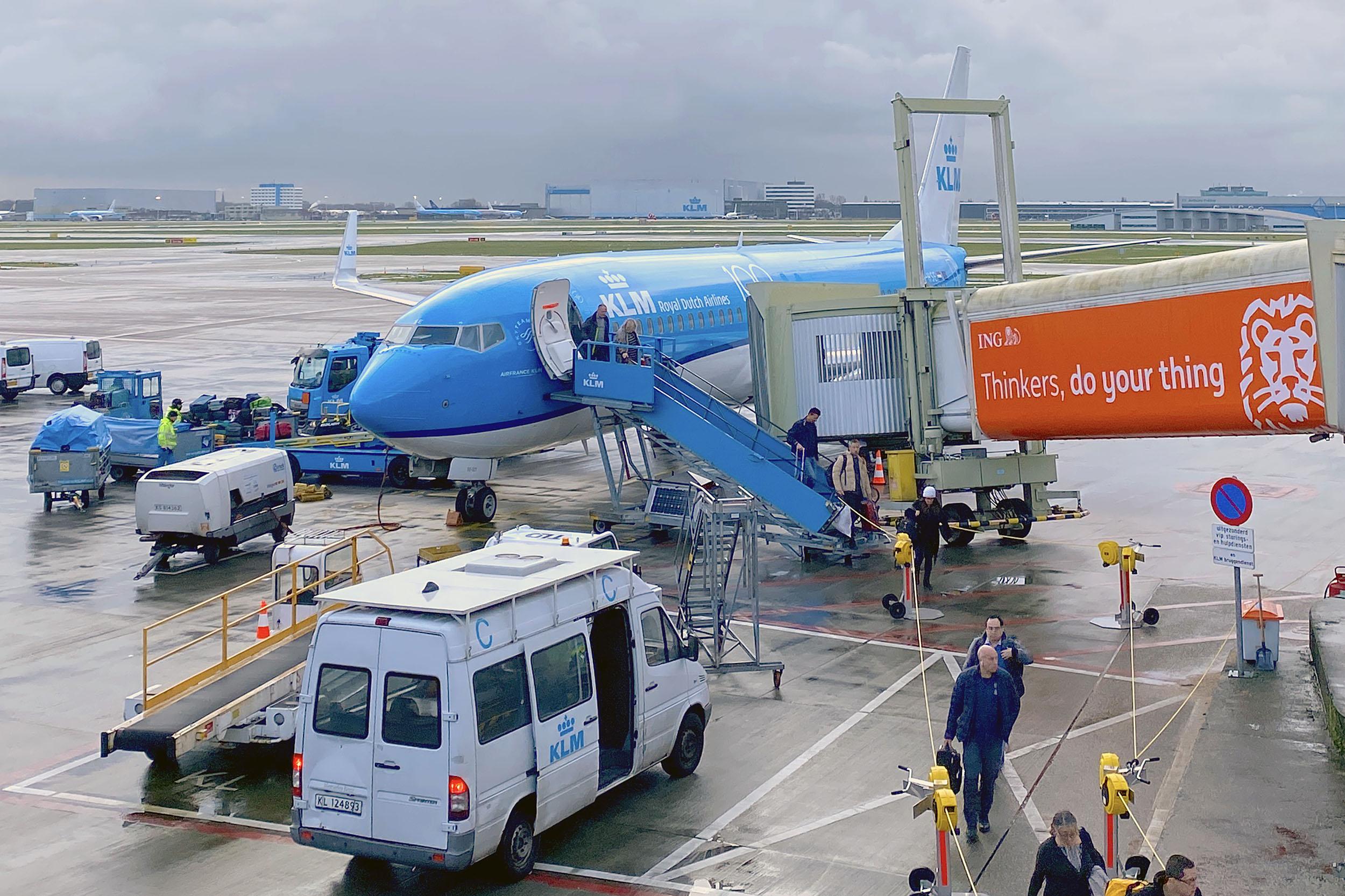 KLM Schiphol Amsterdam