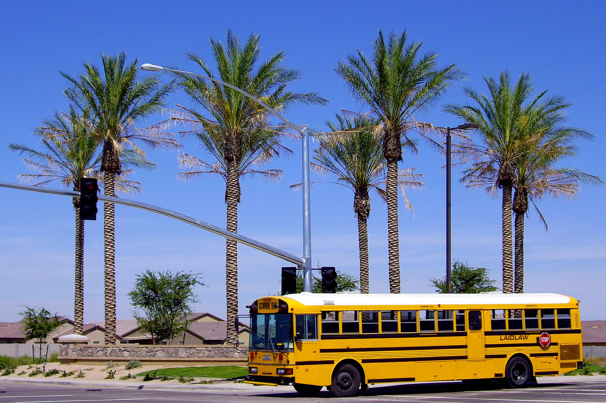 Queen Creek Arizona Skolbuss