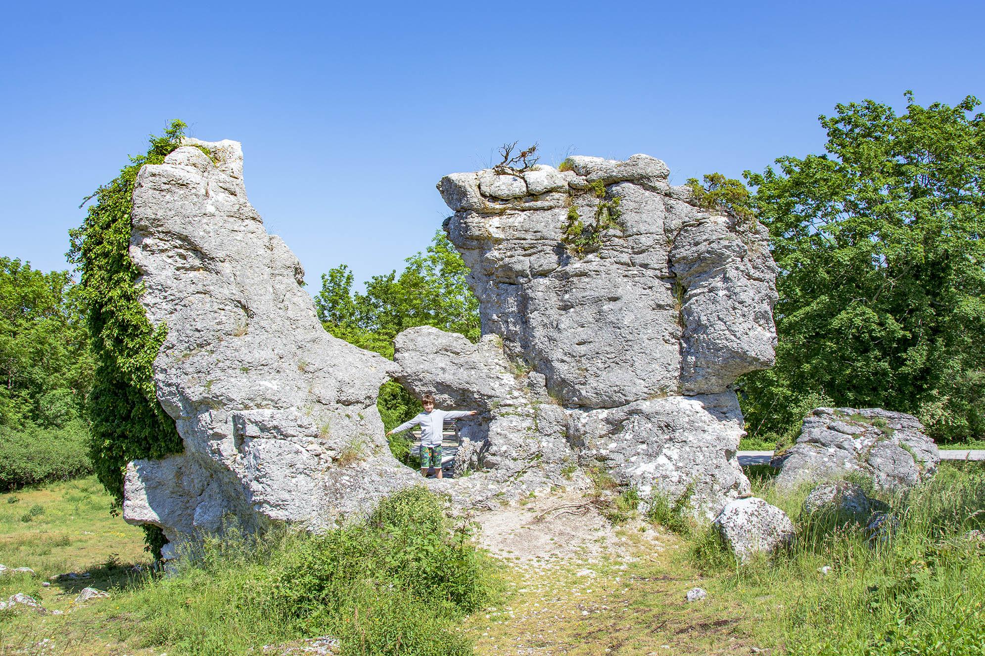 Rauk Lickershamn Gotland