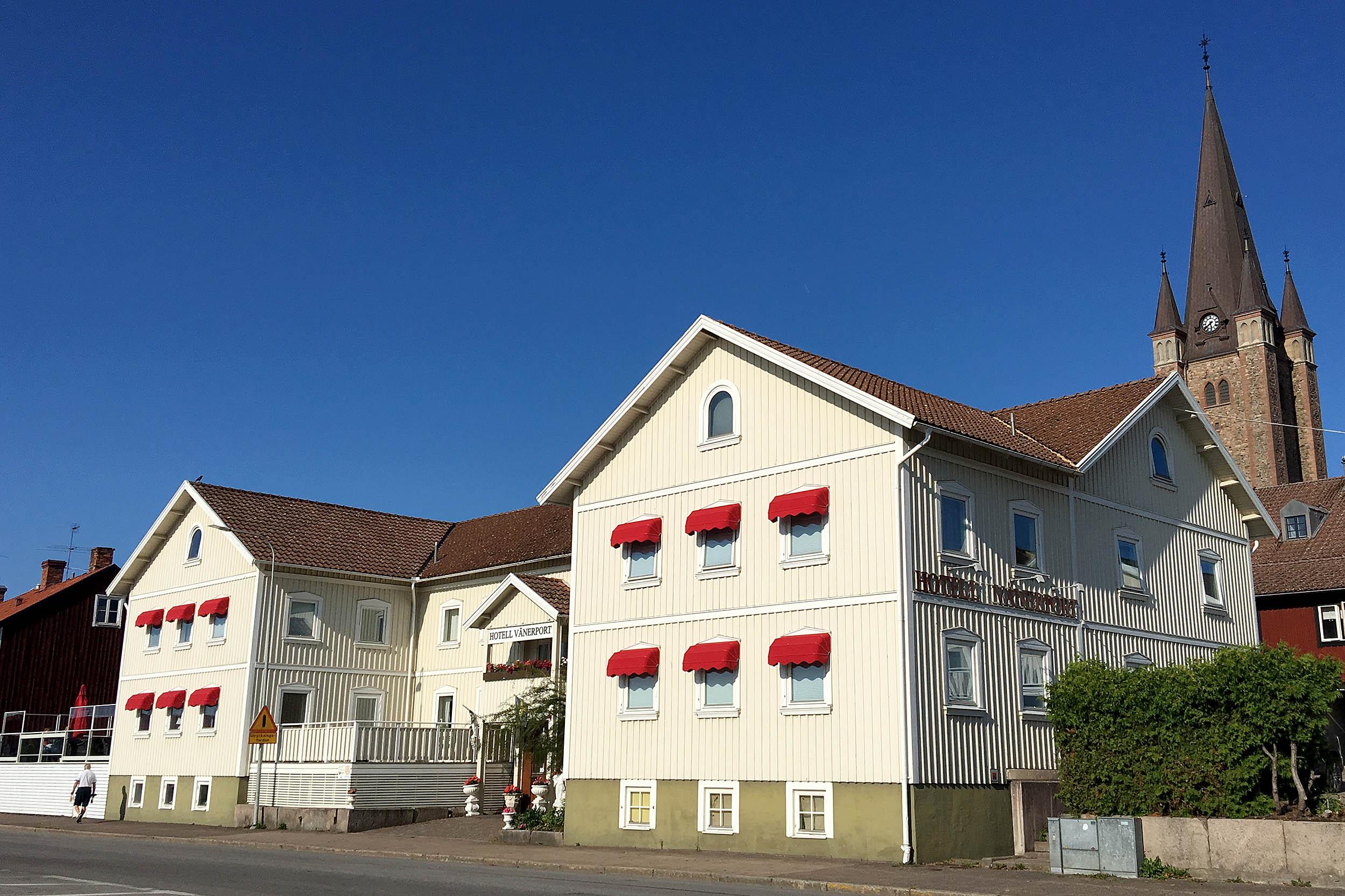 Hotell Vänerport Mariestad.