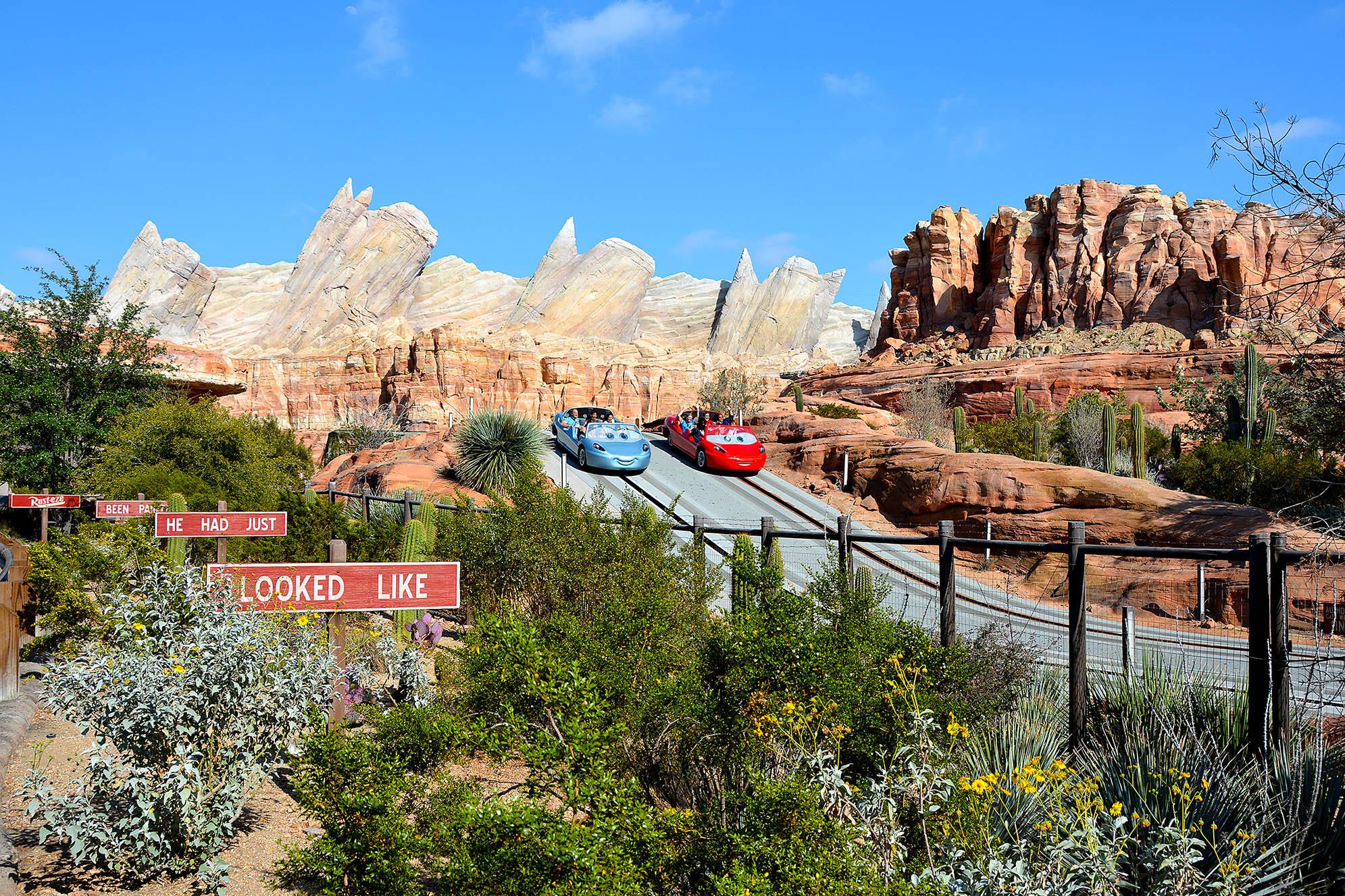 Radiator Springs Racers Disneys California Adventure