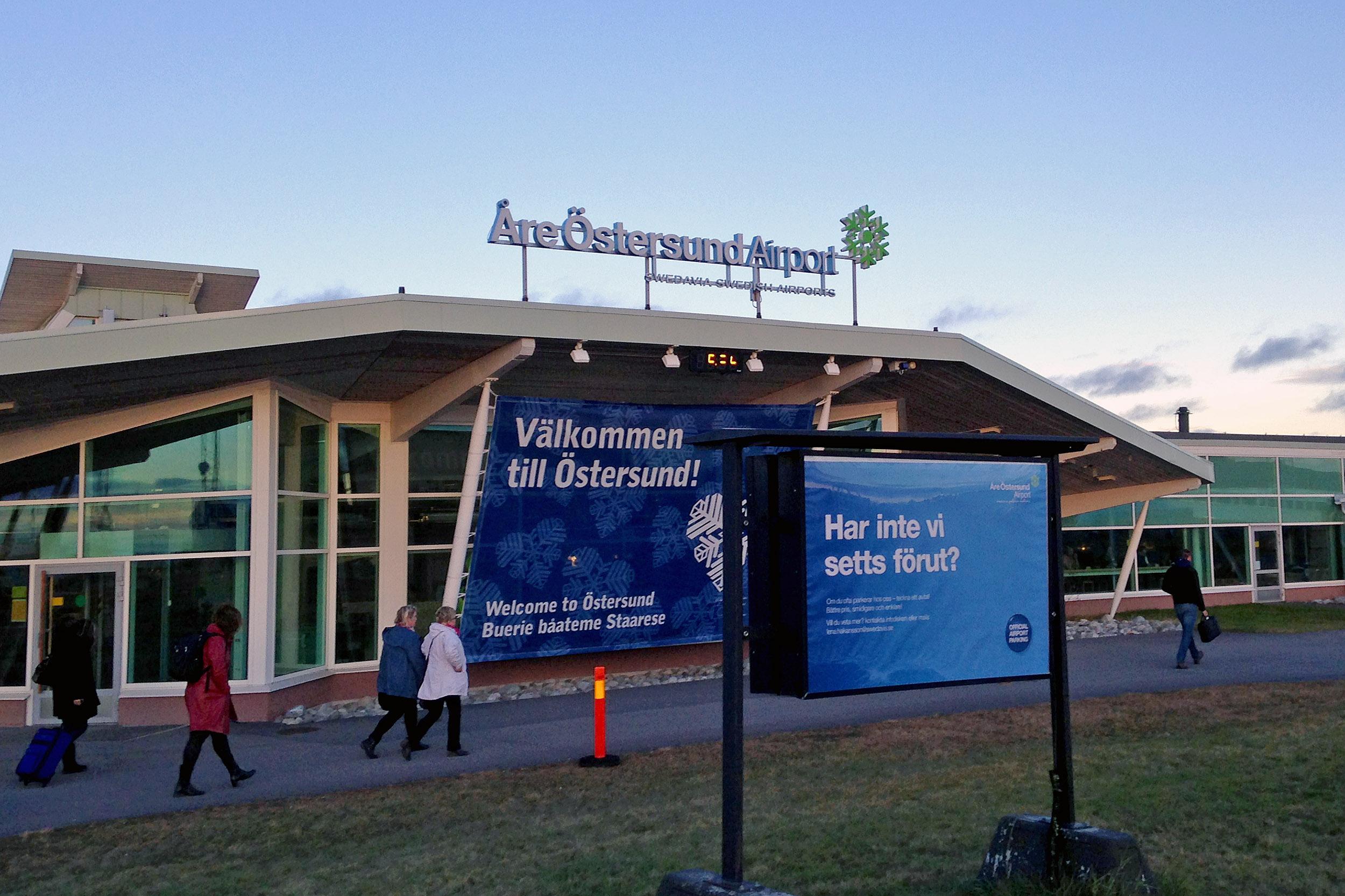 Östersund flygplats