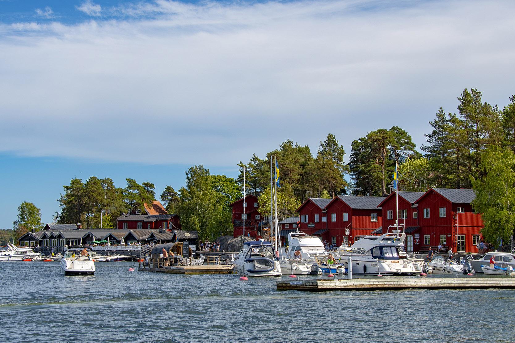Fjäderholmarna Stockholm