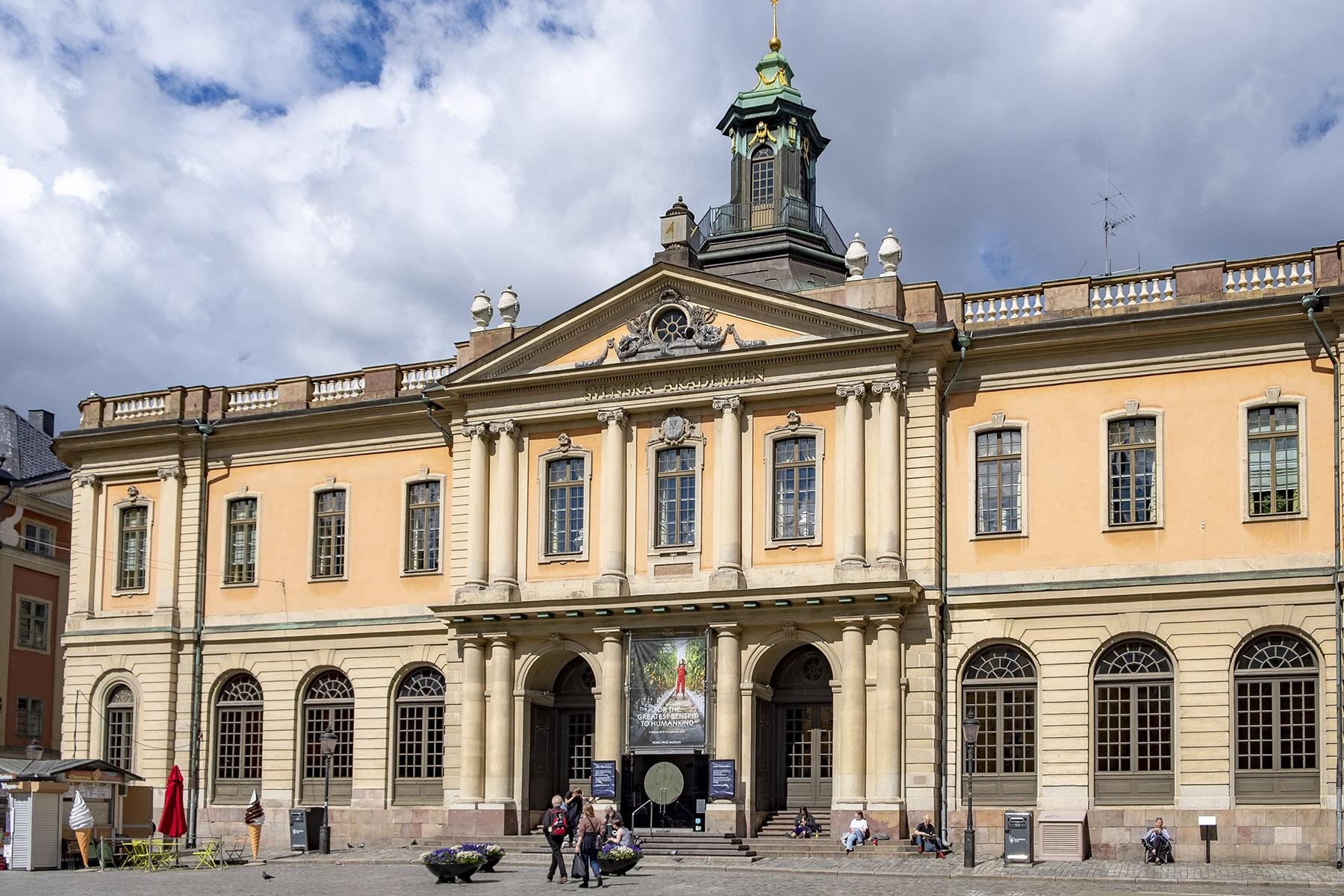 Nobel Prize Museum Gamla Stan Stockholm