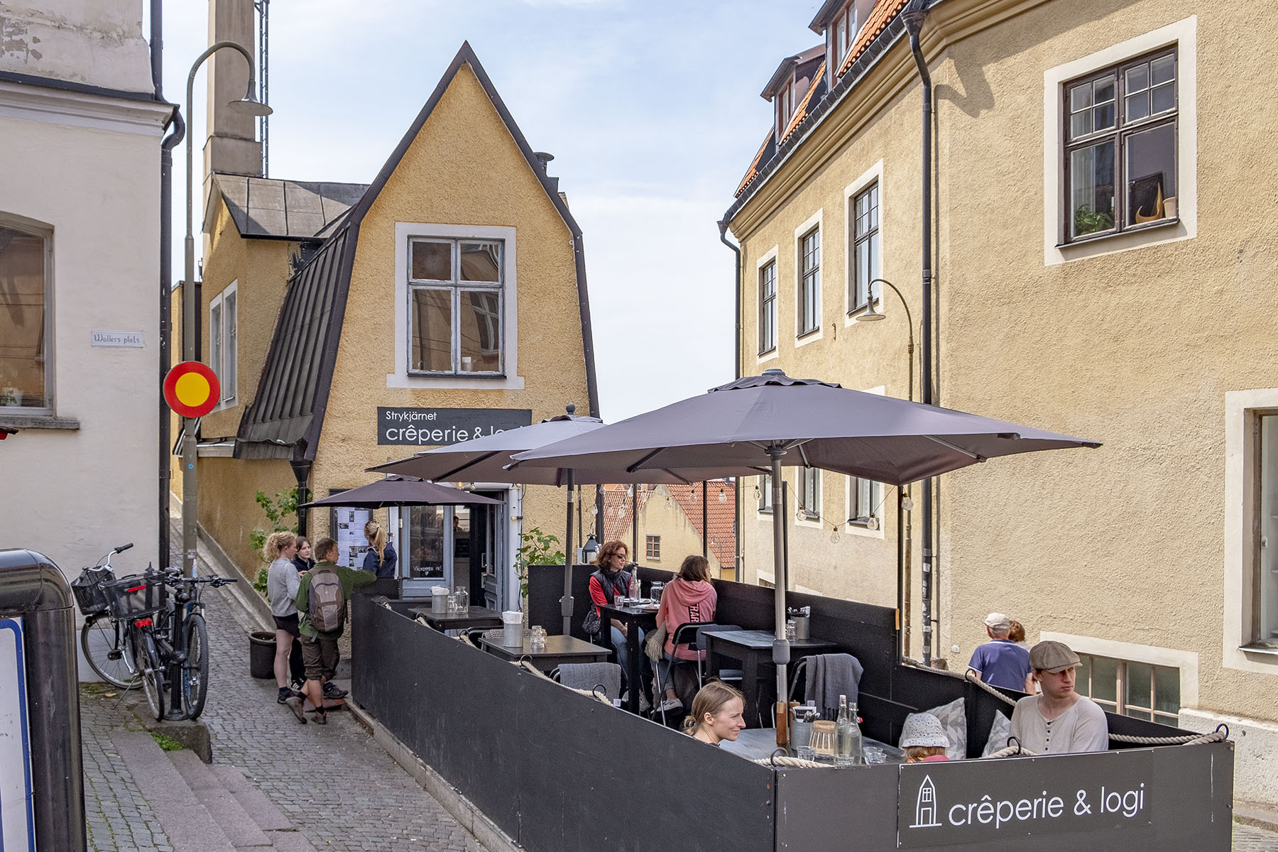 Crêperie & Logi Mat i Visby