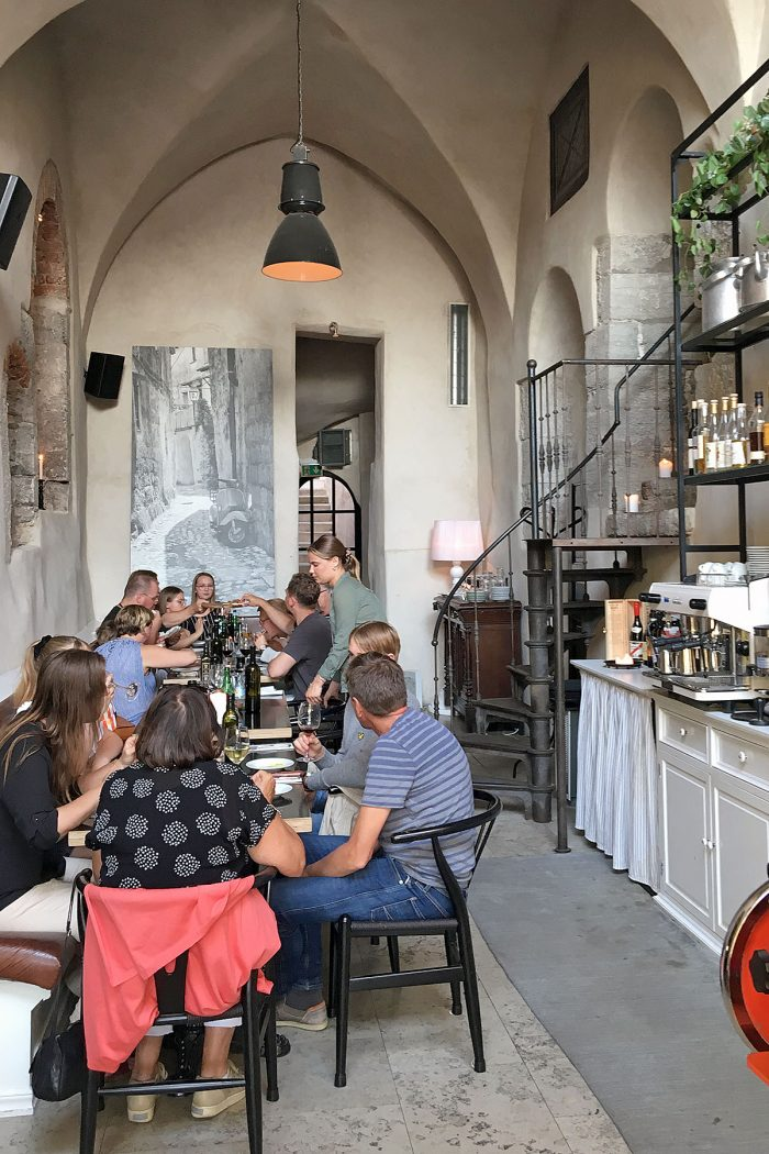 Italienaren Mat i Visby
