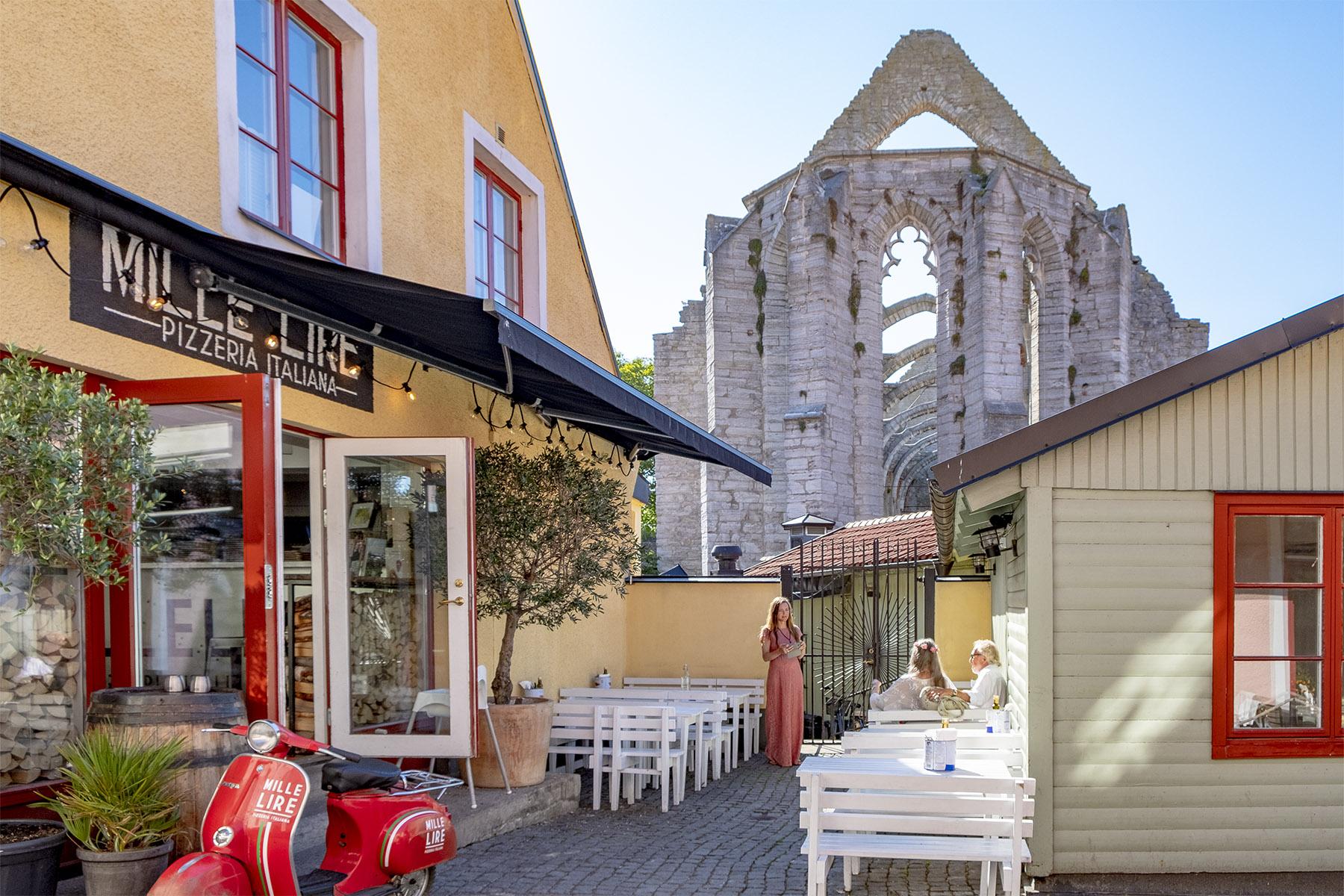 Mille Lire Mat i Visby