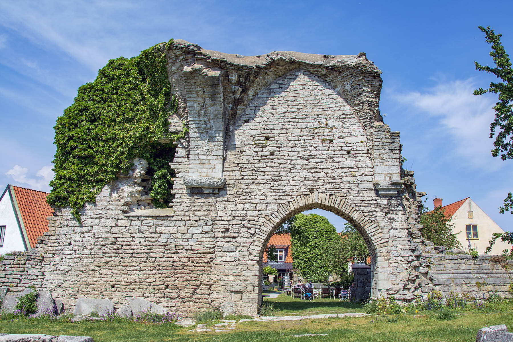 S:t Pers ruin Visby Gotland