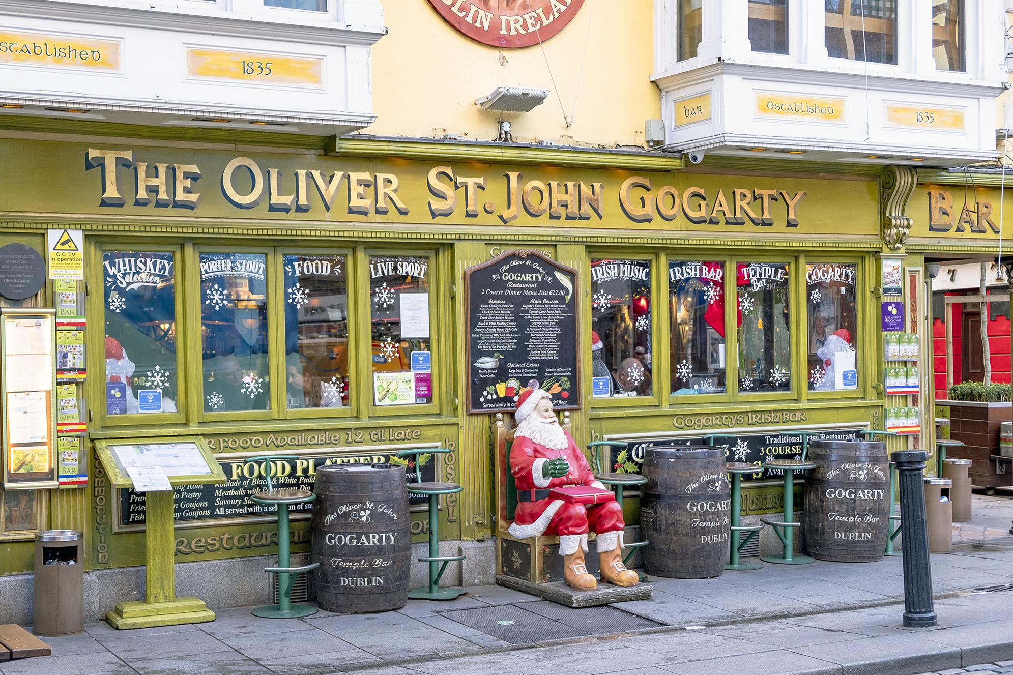 The Oliver St John Gogarty Dublin