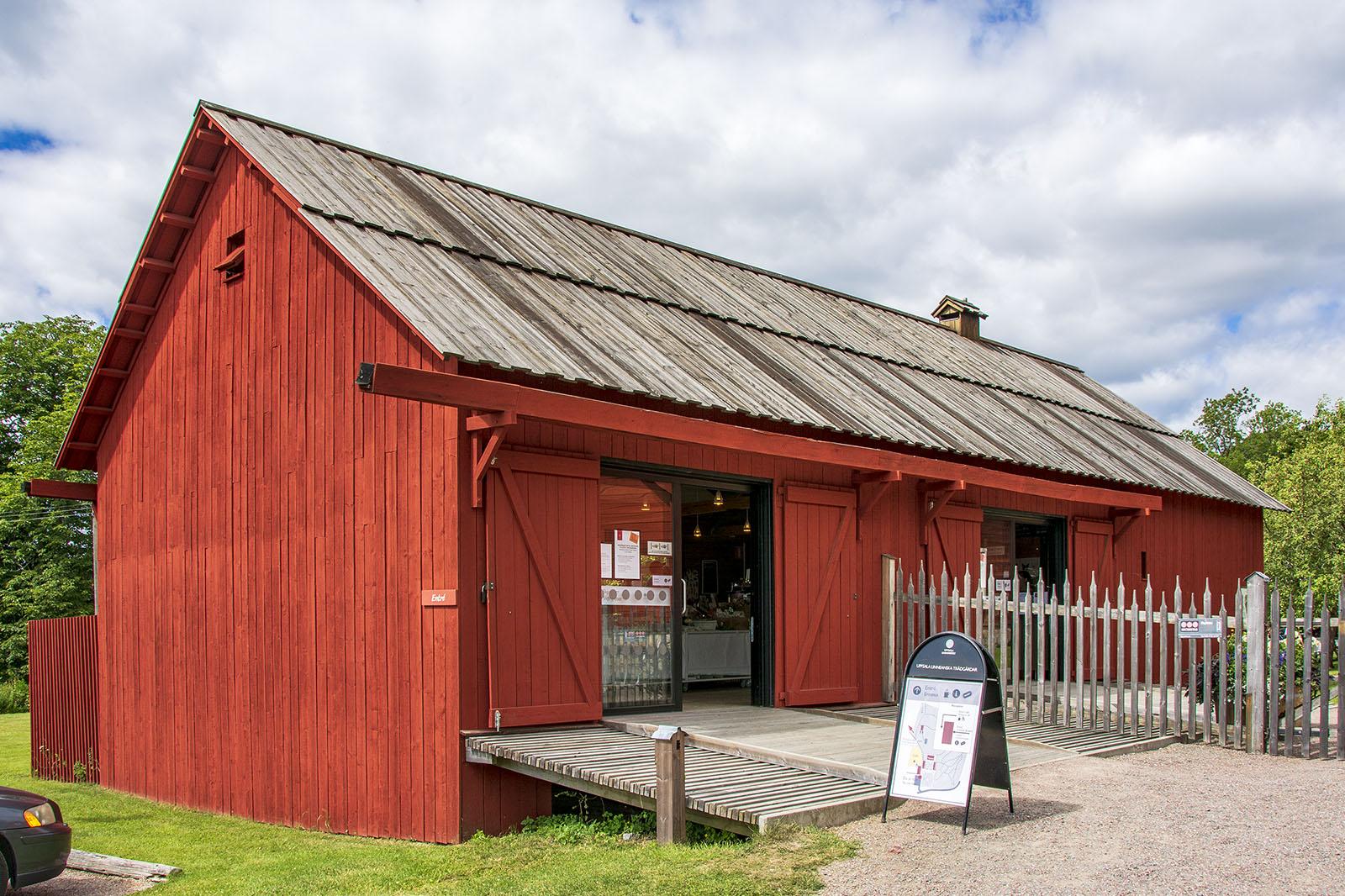 Linnés Hammarby museibutik och café