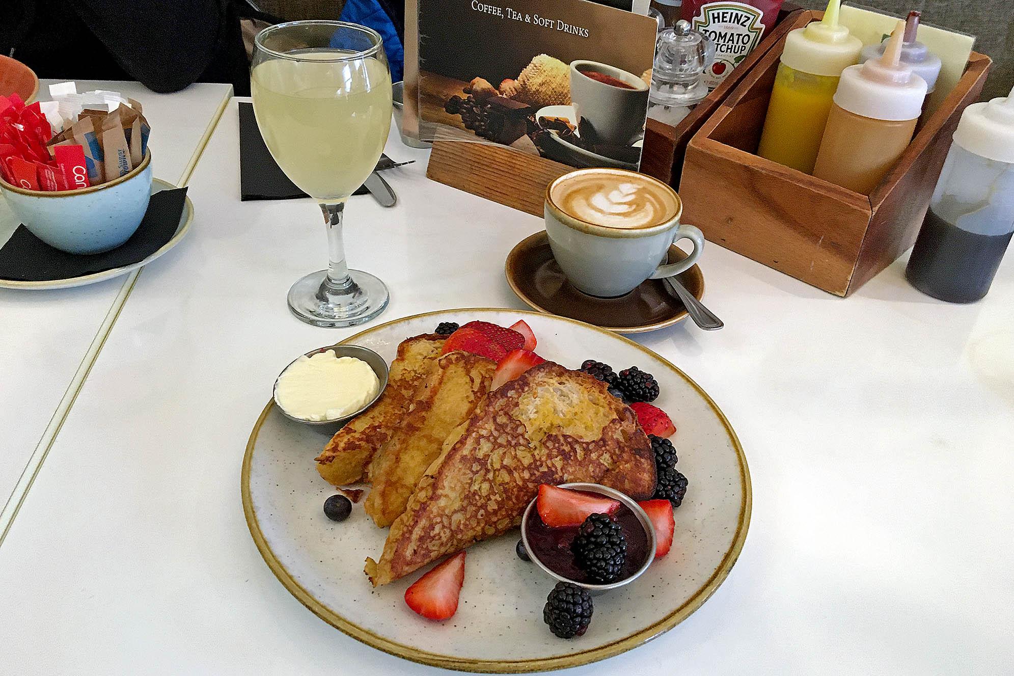 French Toast på Taste Food Company Matställen i Dublin