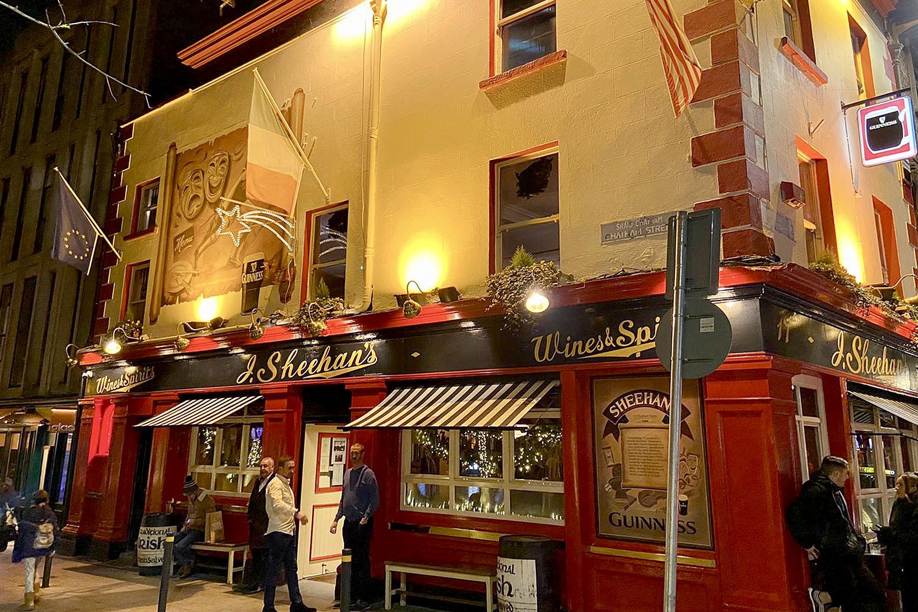 Sheehans Pub Dublin