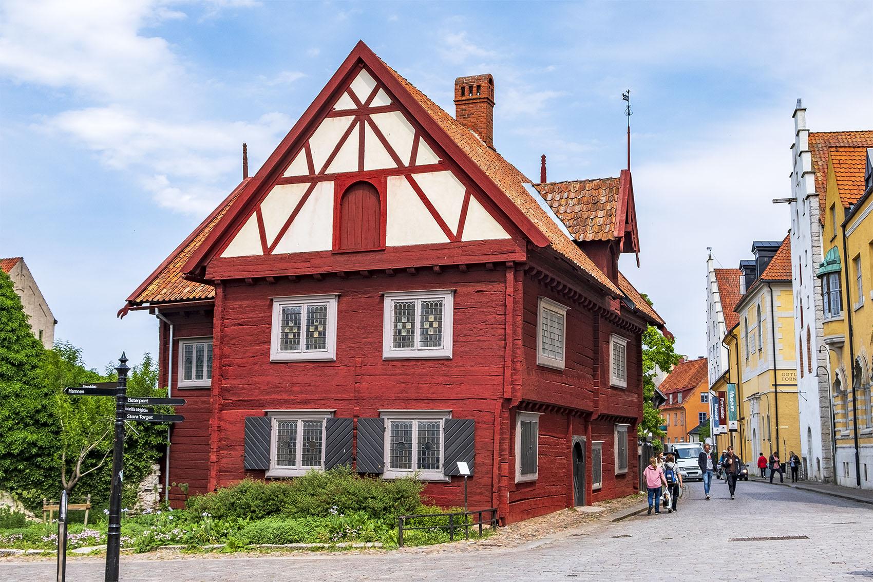 Burmeisterska huset vid Donners plats, Visby