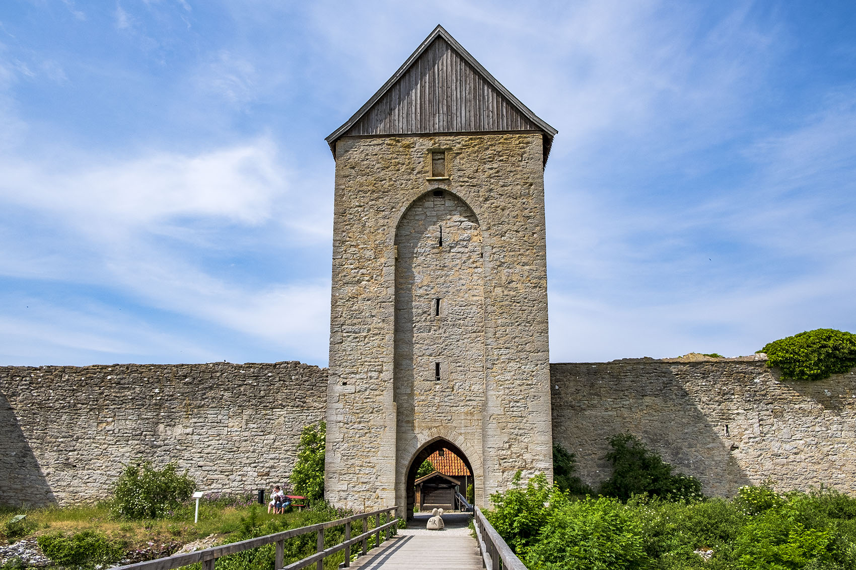 Dalmansporten Visby ringmur
