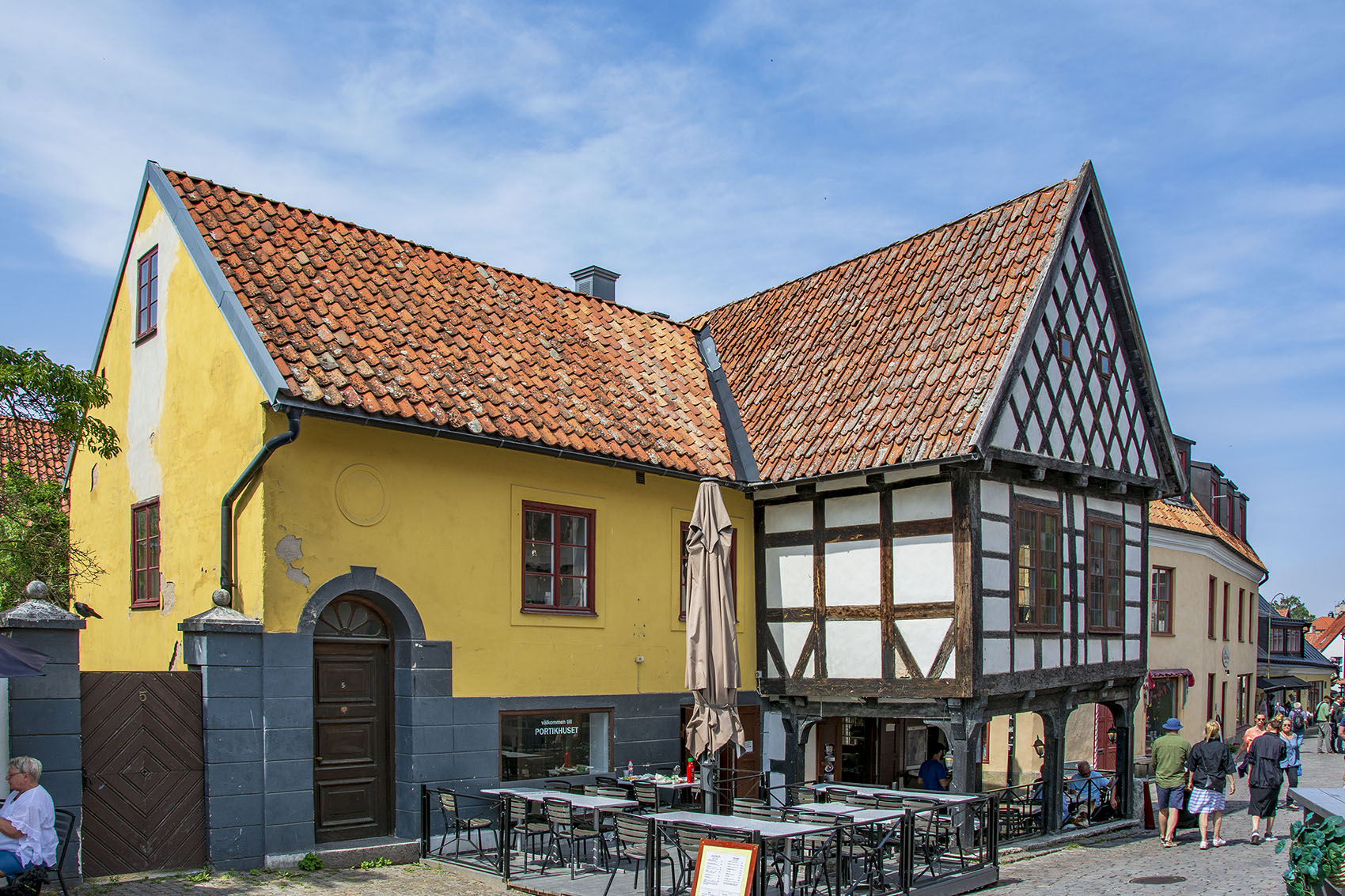 Agrellska gården med anor från medeltiden.