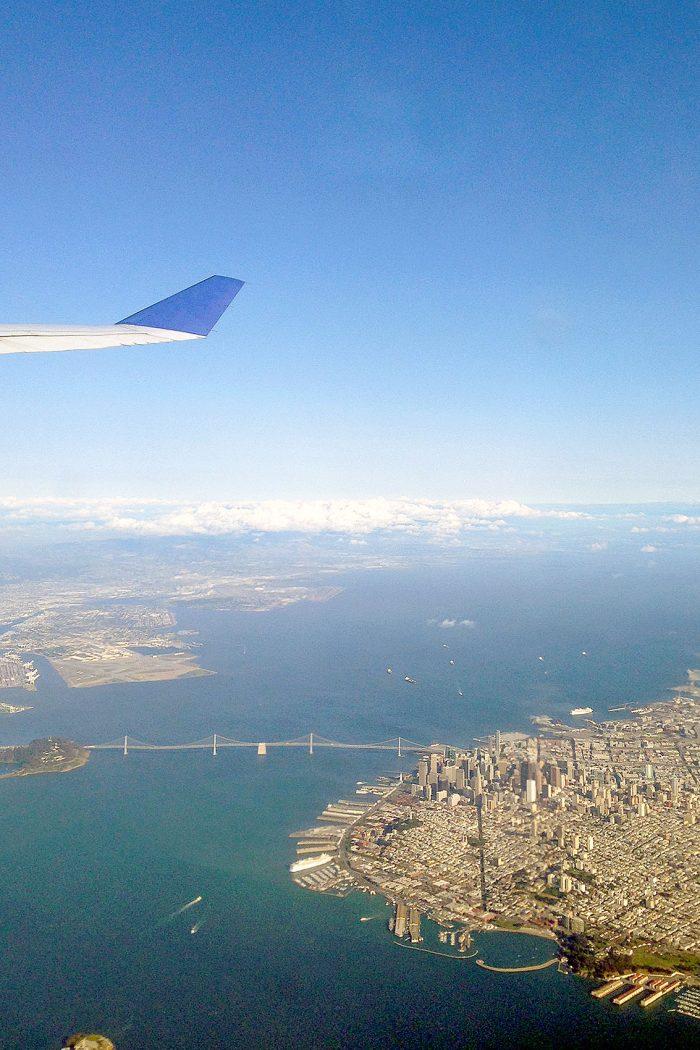San Francisco från ovan