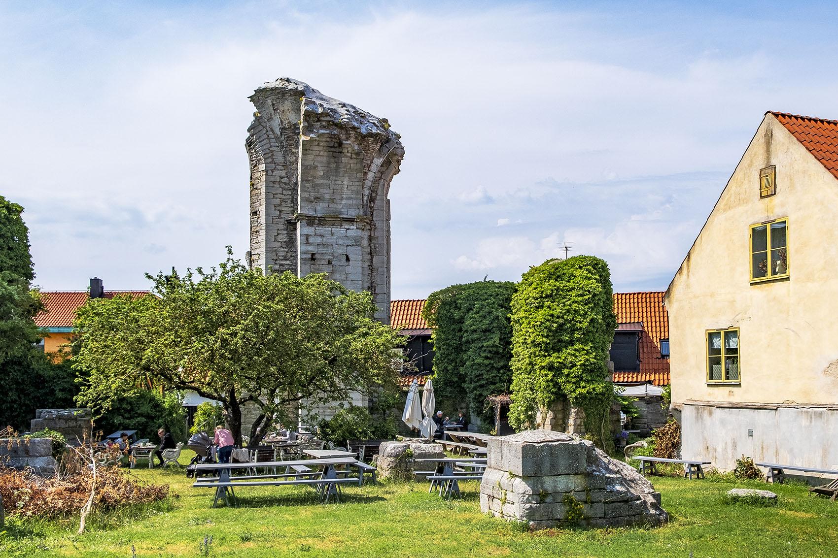 S:t Hans ruin Visby Gotland