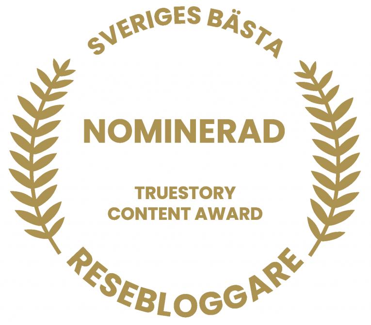 Nominerad Truestory Content Awayrd