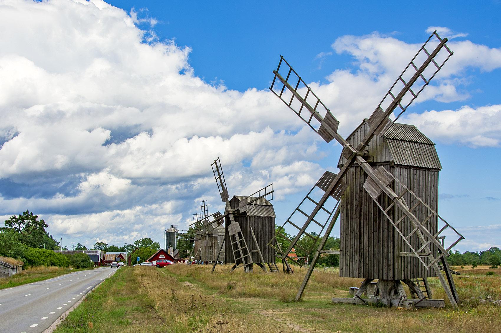 Lerkaka kvarnrad Öland