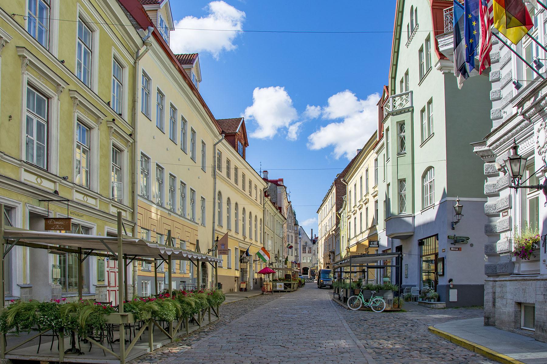 Tallinn Estland sommaren 2021
