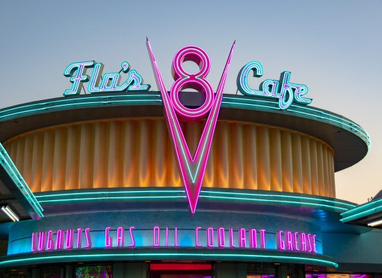Flo's Cafe, Cars Land, California Adventure