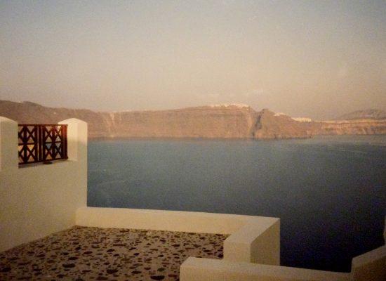 Utsikt Fira Santorini