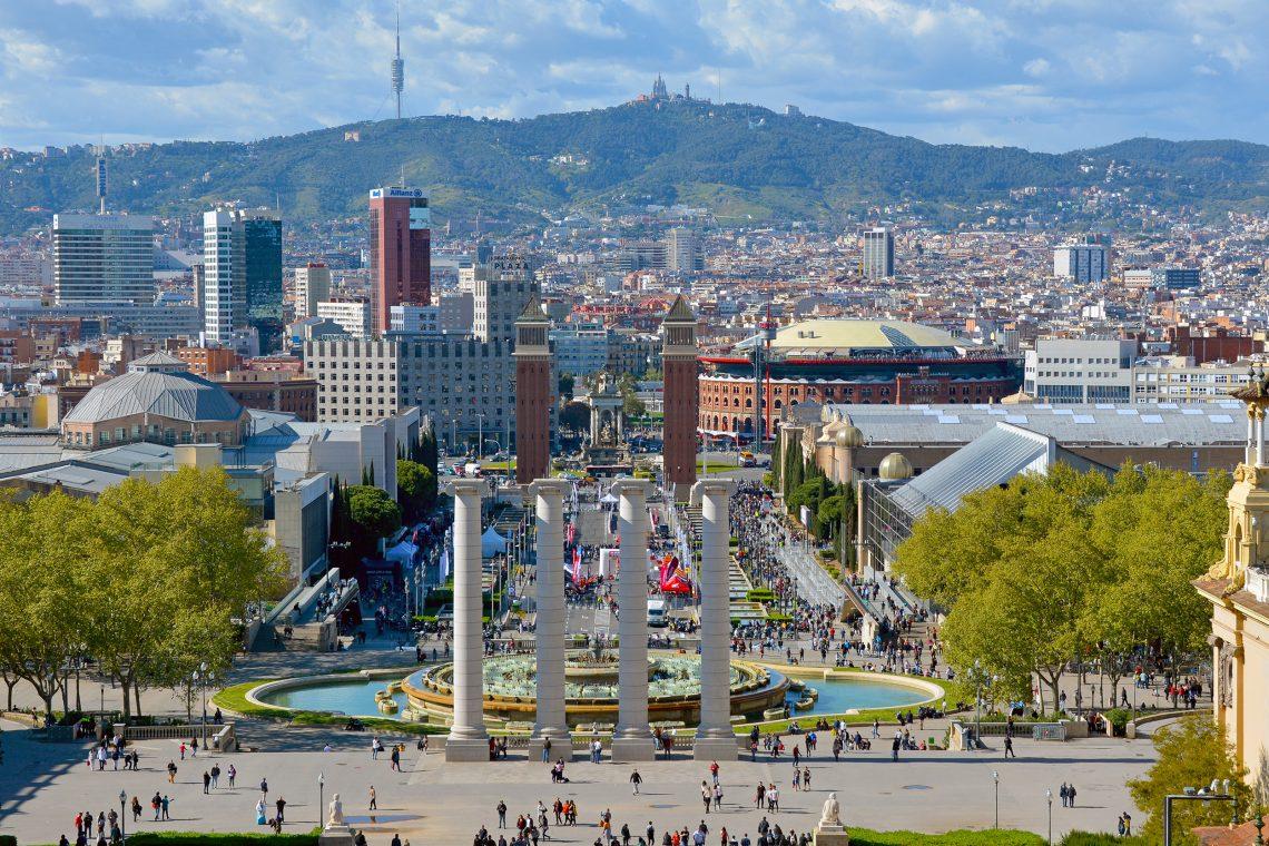 Plaça d'Espanya Barcelona