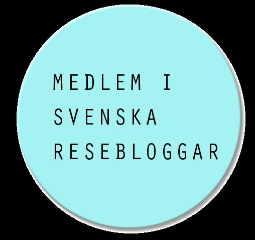Badge svenska resebloggar