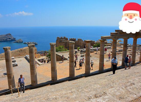 Akropolis Lindos Rhodos