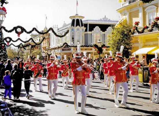 Nyårsparad Magic Kingdom Walt Disney World Orlando