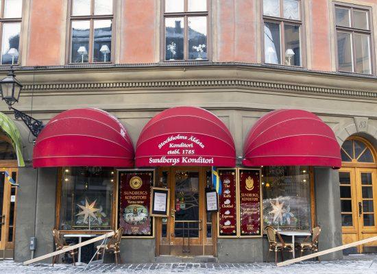 Sundbergs konditori Stockholms äldsta café