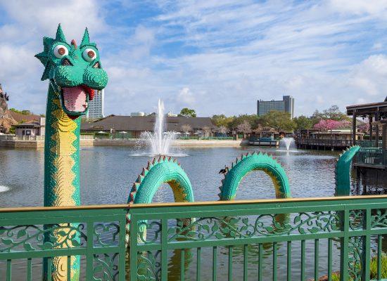 Disney Springs Lego Drake Orlando