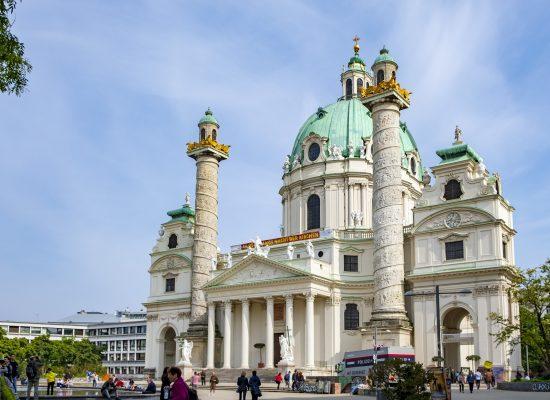 Karlskirche Wien Österrike