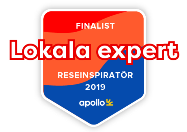 Finalist Apollo Årets Reseinspiratör Lokal expert