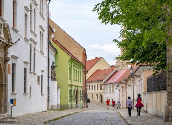 Kapitulska street i bratislava slovakien